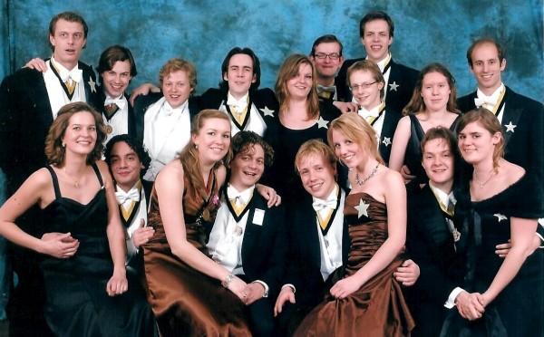 De Gong met dates op het Peter R. De Dies-Gala gala van Carolus Magnus