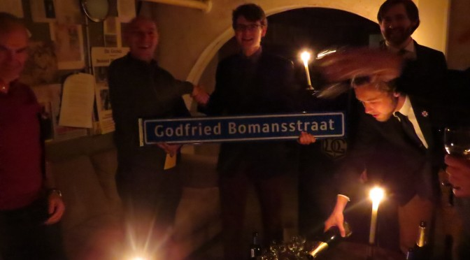 De Nijmeegse gemeente feliciteert het dispuut dan toch nog met haar 17e lustrum